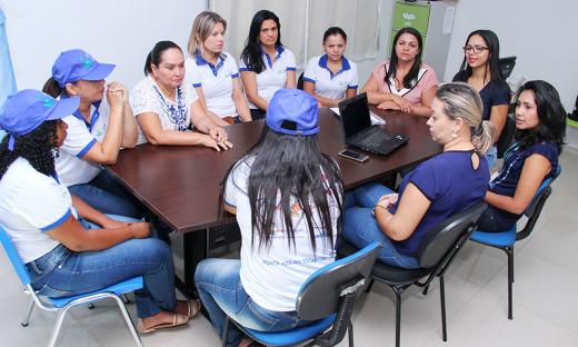 Equipe do Programa Criança Feliz realiza visitas em Ponte Alta