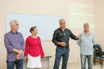 Palestra com representante do BEM durante encerramento de curso de empreendimento