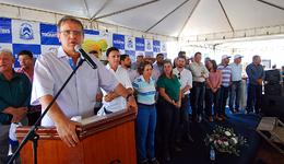 O governador Marcelo Miranda destacou a importância dos benefícios entregues para amenizar os efeitos da seca