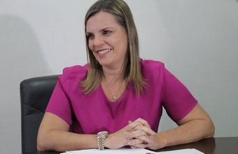 Vice-governadora Claudia Lelis