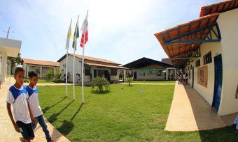 Área construída da unidade passa de 1.542,34 m² para 2.101,43 m² e aumenta a capacidade de atendimento para 450 alunos