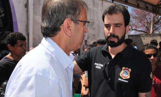 Durante a solenidade, o governador destacou a nomeação de mais 86 aprovados no Concurso da Polícia Civil