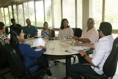 Seden discute com a coordenação e o parceiros do inova Gurupi o apoio do governo ao evento