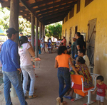 Visitas ocorrem em assentamentos e comunidades na área rural da região de Monte do Carmo