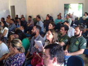A audiência pública  mobilizou toda comunidade local