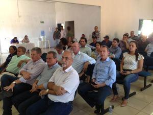 O encontro discutiu os impactos ambientais, provocados pelas  lavouras do Comitê da Bacia Hidrográfica do Rio Formoso