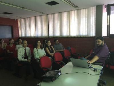 Técnico Marcus Vinicius apresenta funcionalidades específicas do e-Proc para atuação da PGE