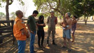 Proprietários rurais recebem orientações sobre os riscos das queimadas