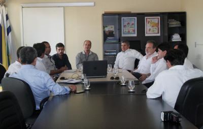 Empresários portugueses estiveram na Seden para apresentar seu trabalho voltado às soluções tecnológicas para gestão de cidades