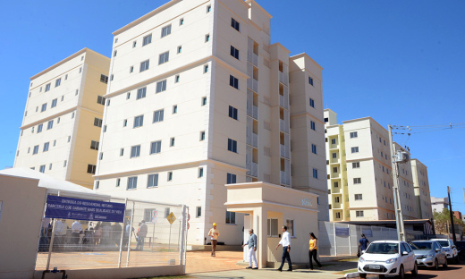 Nesta primeira etapa, Marcelo Miranda entregou 56 apartamentos do Residencial Netuno. No total, esta prevista a entrega de 392 apartamentos pelo programa