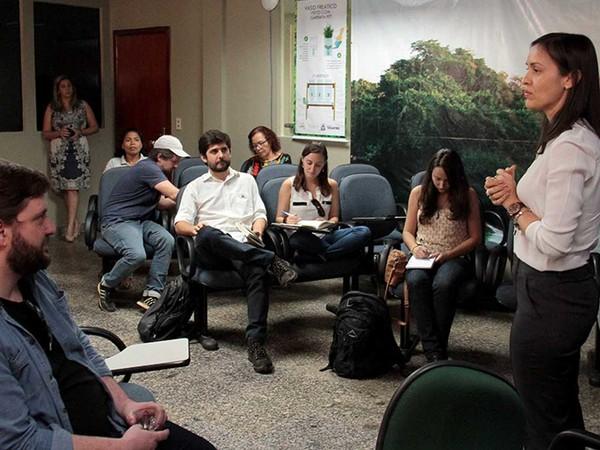 A secretária Meire Carreira destacou a importância de conciliar desenvolvimento econômico com conservação