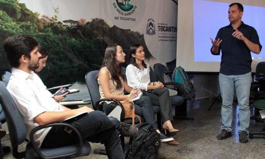 Dados sobre o Cadastro Ambiental Rural (CAR) do Tocantins foram apresentados durante a reunião