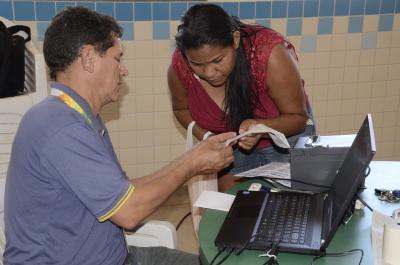 Projeto Acredito atende moradora da Arse 122 - Foto - Luiz Henrique Machado.JPG