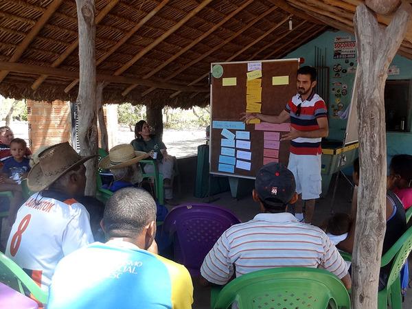Equipe da APA do Jalapão visitou as famílias da comunidade do Rio Novo para debater desenvolvimento turístico local