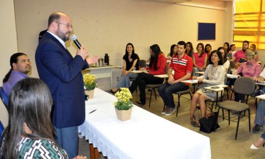 Secretário Marcos Musafir esteve no lançamento e parabenizou pela iniciativa