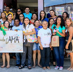Registro da equipe do Tocantins em Fortaleza, na sede da AMA