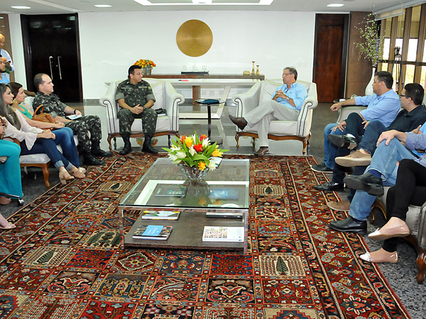Marcelo Miranda ressaltou que a união de forças com o Exército e com os profissionais do Distrito Sanitário Especial Indígena é fundamental para a realização dessa fase do programa da Caravana da Juventude
