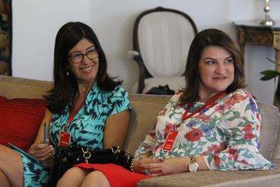 Professora Wanessa Zavarese Sechim representou o Consed na reunião