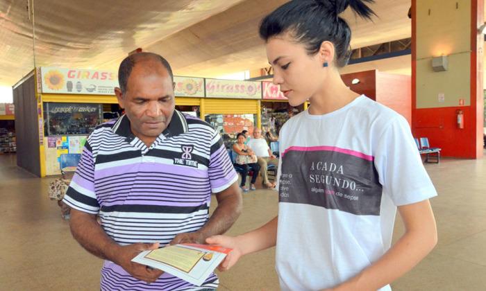 Nesta quarta, 13, Dia Mundial da Sepse, a equipe do HGP, em parceira com o Instituto Latino Americano da Sepse, realiza uma ação de orientação no Terminal Rodoviário de Palmas