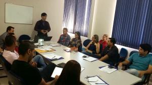 Palestra com o diretor de departamento de modernização e tecnologia da informação do MPE-TO, Huan Carlos Borges Tavares