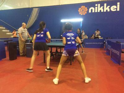 No Tênis de Mesa, Clara e Emília venceram na estreia