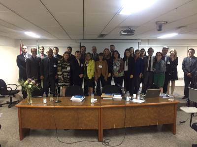 Corregedor-geral da PGE acompanha discussões de Colégio Nacional de Corregedores em São Paulo