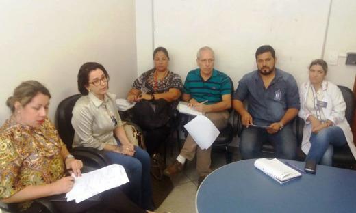 Equipes do Estado e da Opas estão em Gurupi trabalhando no PDI