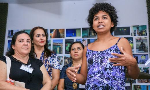 Amanda Fidelis, do Bate-Palmas explica sobre o projeto