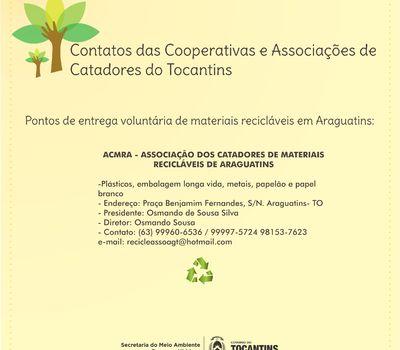Contato - Araguatins