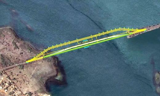 Nova ponte terá 1.488 metros de extensão, sendo 1.088 de vão e 400 de aterro; a matéria segue agora para sanção do governador Marcelo Miranda