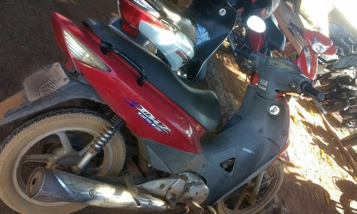 Motocicleta roubada é recuperada em Araguaína