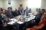 Procuradores durante reunião do Conselho