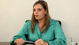 Na sequência, Claudia Lelis abre as atividades da Caravana da Juventude