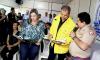 O comandante do Corpo de Bombeiros do Tocantins, coronel Dodsley Yuri Vargas, apresentou a situação em relação a estiagem prolongada no Estado ao ministro Marcelo Cruz e a governador Claudia Lelis -