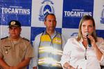 Cláudia Lélis ressaltou que a entrega de veículos e equipamentos dão condições de trabalho para fortalecer a fiscalização, humanizar o trânsito e preservar vidas