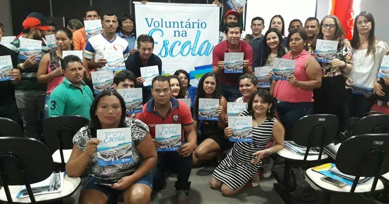 Na DRE de Pedro Afonso, a mobilização contou com a participação dos gestores das escolas regulares e unidades indígenas