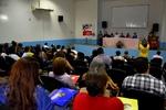 A Conferência reuniu representantes governamentais, membros da sociedade civil organizada, estudantes e comunidade em geral.