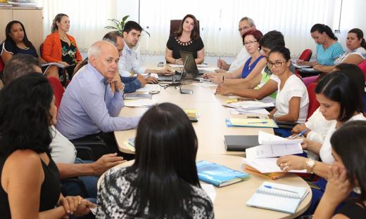 Reunião com diretores aproxima a equipe da Seduc das escolas estaduais