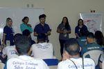 Superintendente, Américo Júnior, fala sobre o projeto AcrediTO aos alunos da Escola Estadual São José.