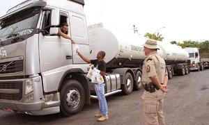 Atividades estão sendo desenvolvidas nos postos de pesagem, especialmente, nas divisas do Tocantins com outros estados
