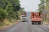 Trecho Darcinópolis a Angico já recebe pintura na pista