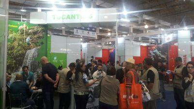 De acordo com o superintendente  de Desenvolvimento Turístico do Estado, James Possapp, esta é  uma das melhores participações do Tocantins  na feira.