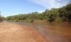 A instalação, prevista para o final do ano, foi antecipada devido ao baixo nível do rio, que sofre com os efeitos da forte estiagem
