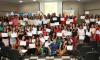 Foram certificados 157 conselheiros de direitos da criança e do adolescente e conselheiros tutelares pela Escola de Conselhos. A cerimônia ocorreu no auditório da Unitins, na manhã dessa quinta-feira, 28