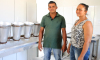 O abatedouro é de propriedade do casal Télio Moreira e Rozivania Fernandes da Cruz, e significa a realização de um antigo sonho