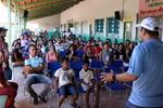 Presidente da ATS, Eder Fernandes, durante segundo dia do Educa Sanear em Centenário