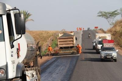 Obras na TO-201 de Axixá a Augustinópolis