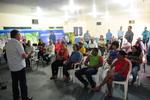 Abertura da reunião com o secretário da Agricultura, Clemente Barros