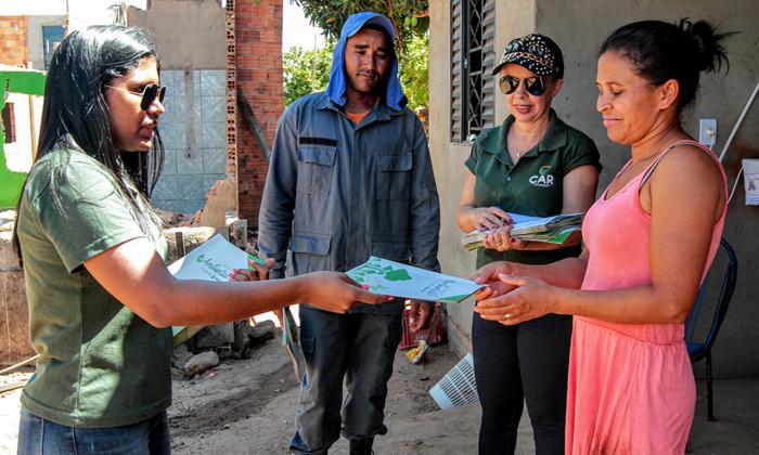 Equipe vai percorrer a zona rural da cidade, alertando a população sobre os riscos das queimadas