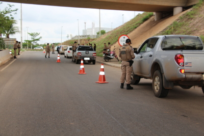 PM realiza operação visando segurança nas rodovias estaduais